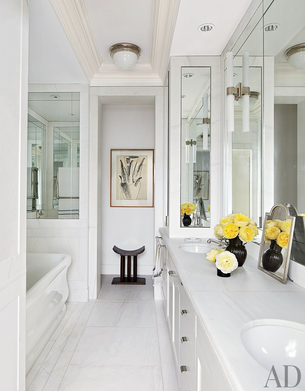 Contemporary Bathroom by Aparicio + Associates in New York, New York
