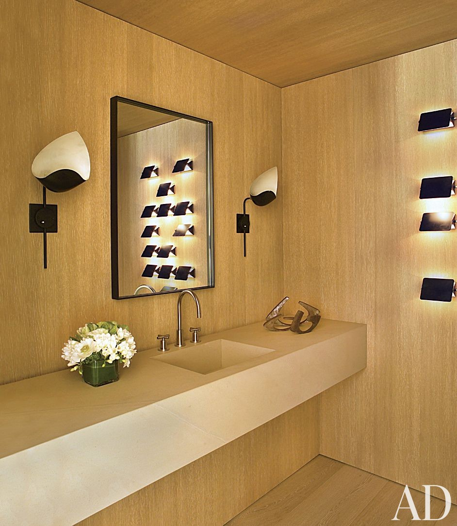 Contemporary Bathroom by Atelier AM and Finholm Architects in Aspen, Colorado