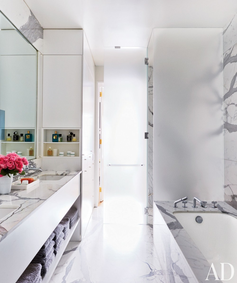 Contemporary Bathroom By D Apostrophe Design By Architectural Digest AD Des