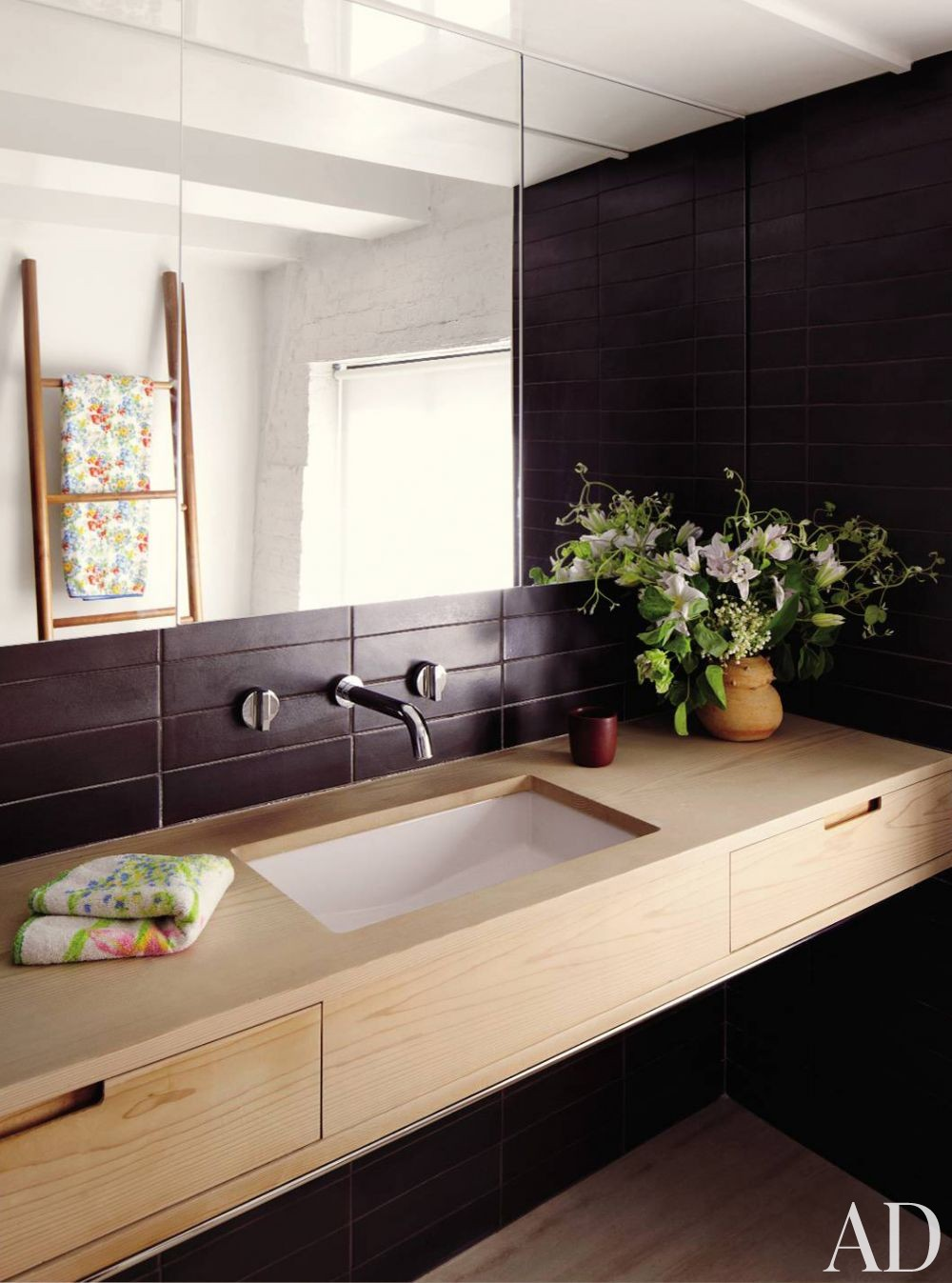Contemporary Bathroom by Descience Laboratories Inc. and Sachs Lindores in New York, New York