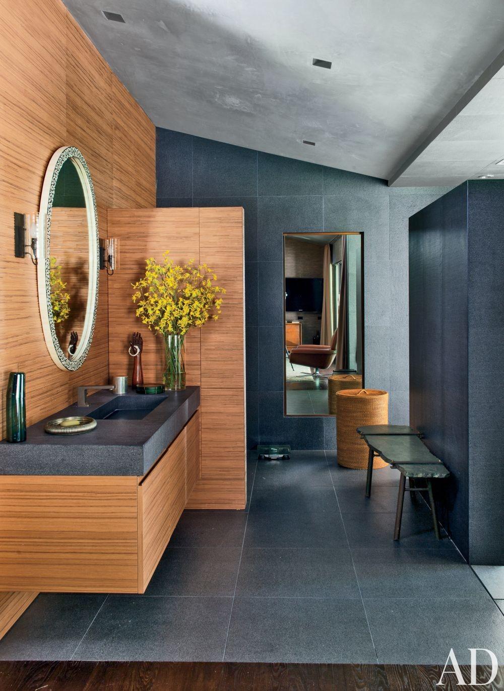 Contemporary Bathroom by Desiderata Design in Los  Angeles, California