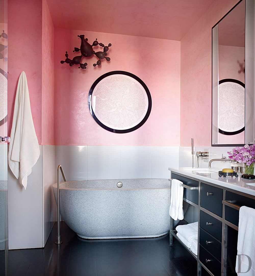 Contemporary Bathroom by Drake Design Associates and Annabelle Seldorf in New York, New York