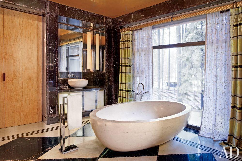 Contemporary bathroom by gabhan o 39 keeffe by architectural for Architectural digest bathroom designs