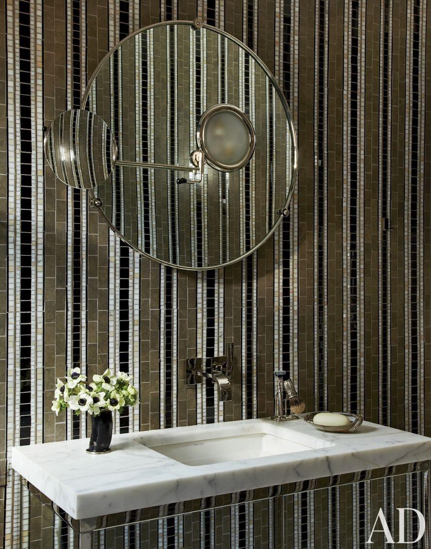 Contemporary Bathroom by Jean-Louis Deniot in Chicago, Illinois
