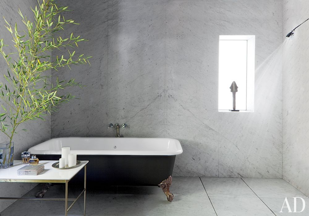 Contemporary Bathroom by Mark Haddawy in Los Angeles, California