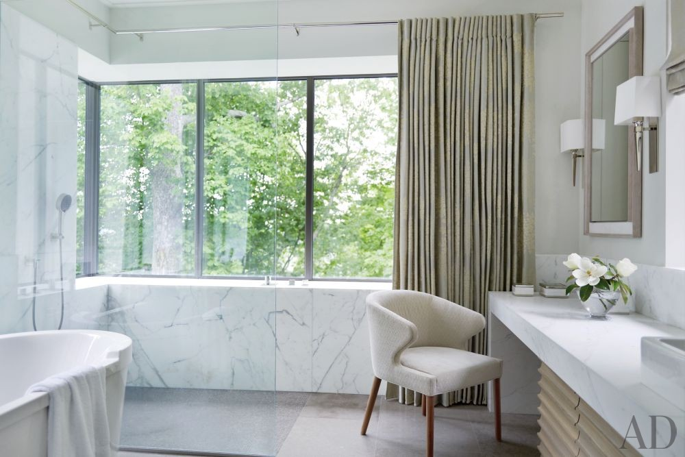 Contemporary Bathroom by McAlpine Booth & Ferrier Interiors and DA|AD in Nashville, Tennessee