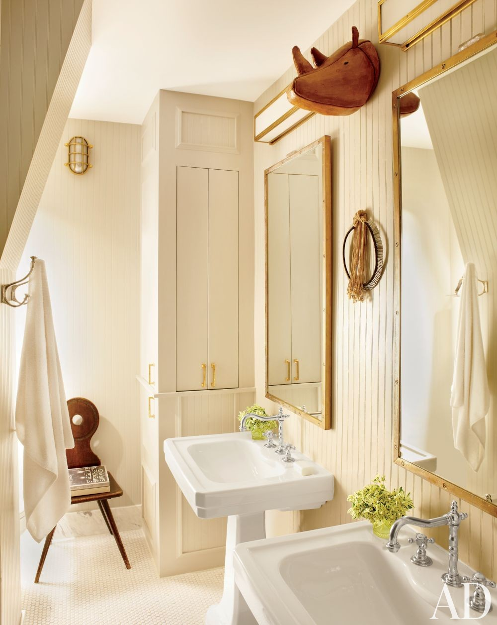Contemporary Bathroom by Nate Berkus in New York, New York