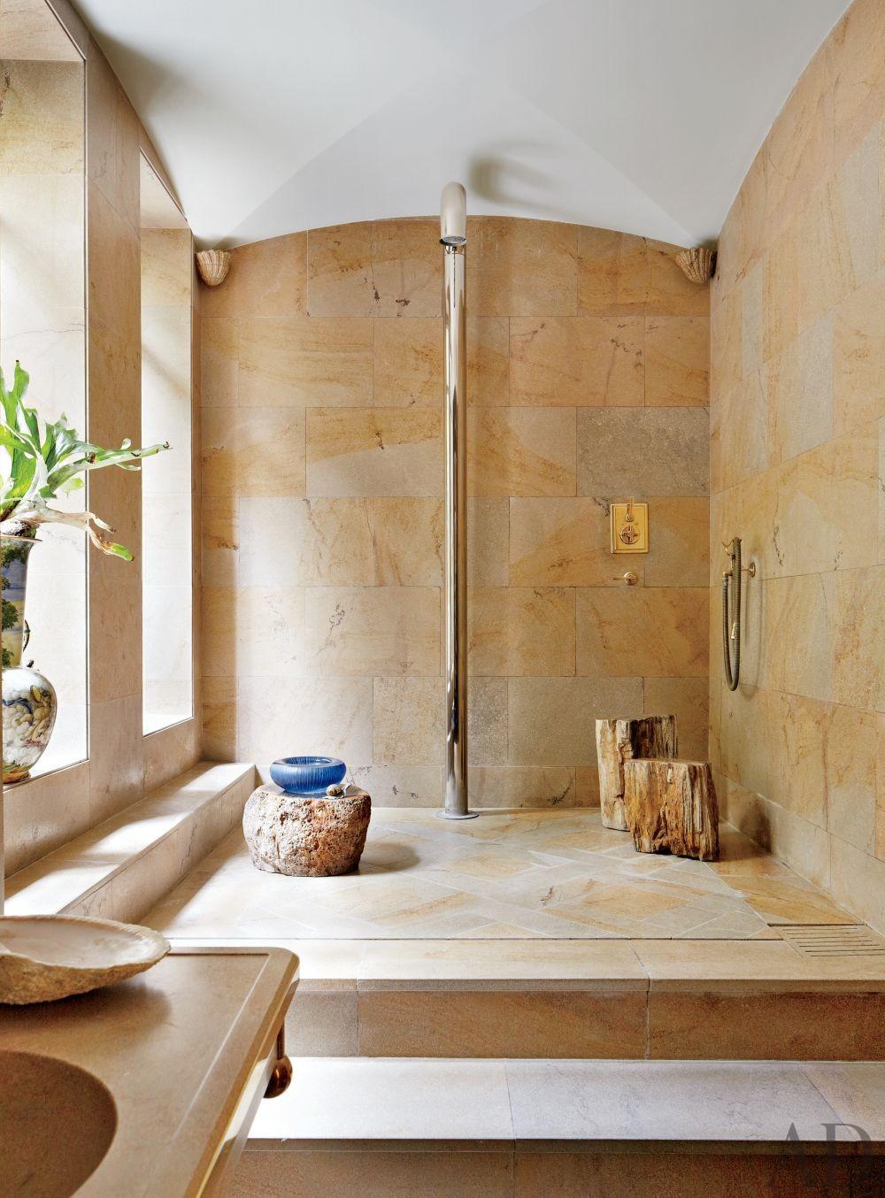 Contemporary Bathroom by Bruno Caron Architectes in Paris, France