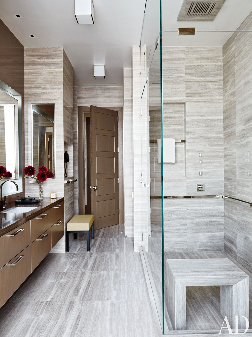 Contemporary Bathroom by Rockwell Group and Rockwell Group in New York, New York