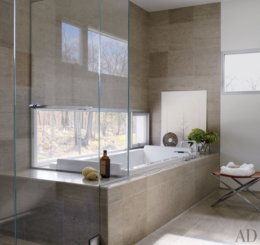 Contemporary Bathroom By Toshiko Mori Architect By Architectural Digest