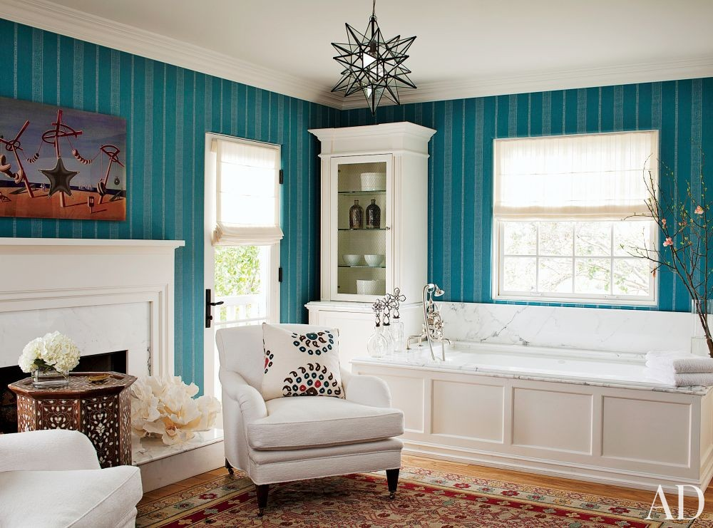 Contemporary Bathroom by Trip Haenisch & Associates in Bel Air, California