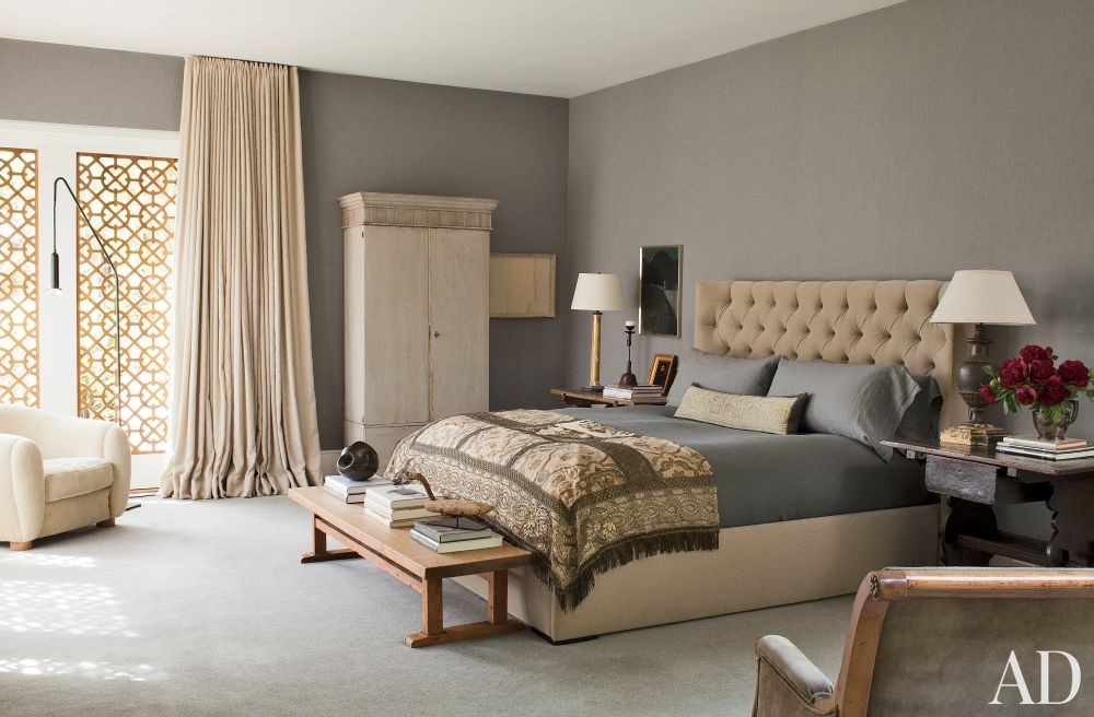 Contemporary Bedroom in Beverly Hills, California