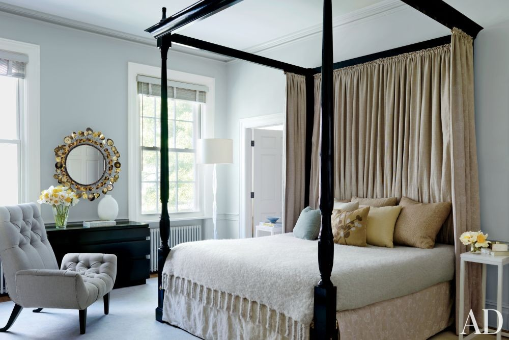 Contemporary Bedroom By Christine Markatos Design By Architectural Digest Ad Designfile Home