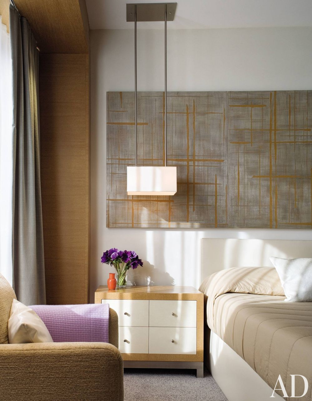 Contemporary Bedroom by Dineen Architecture + Design in New York, New York