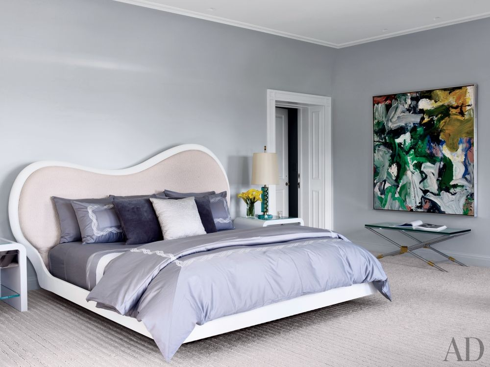 Contemporary Bedroom by Fox-Nahem Associates and Alveary Architecture in Greenwich, Connecticut