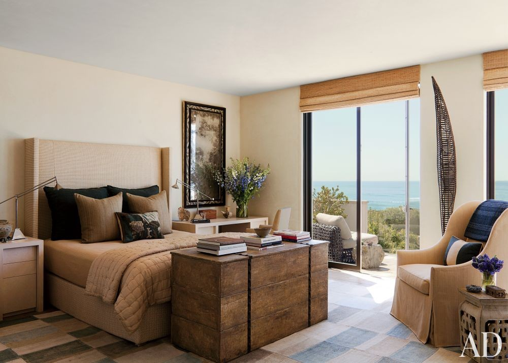 Contemporary Bedroom by Hallberg-Wiseley Designers in Malibu, California