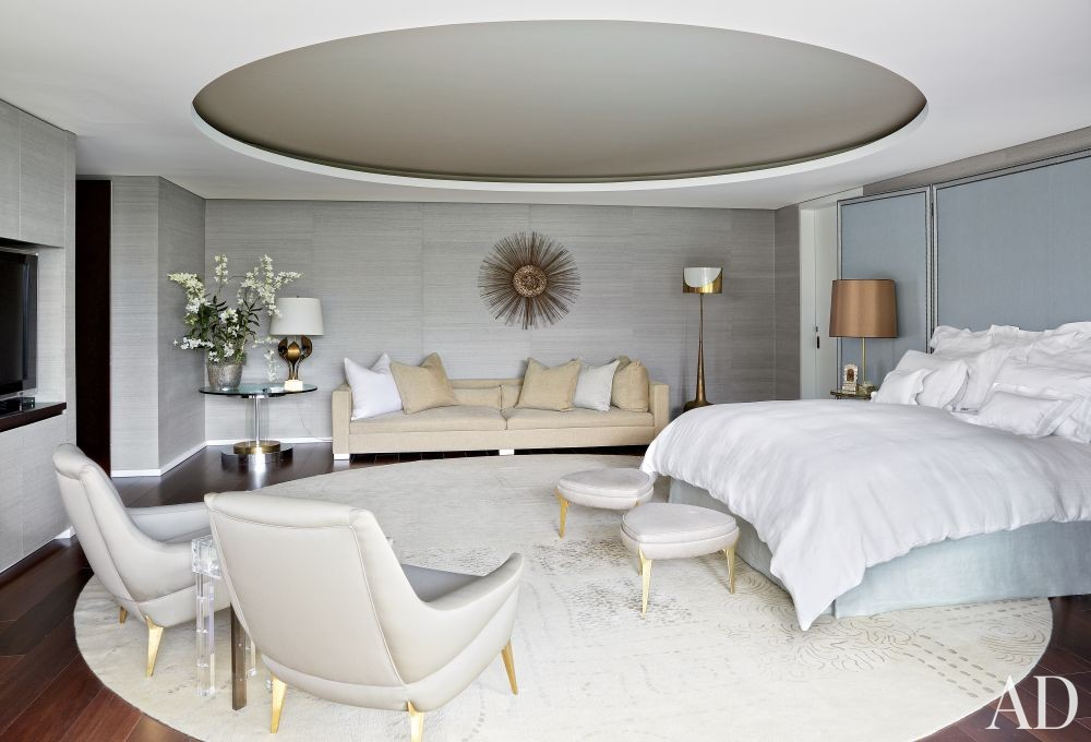Contemporary Bedroom by Jean-Louis Deniot and Jean-Louis Deniot in Colombia