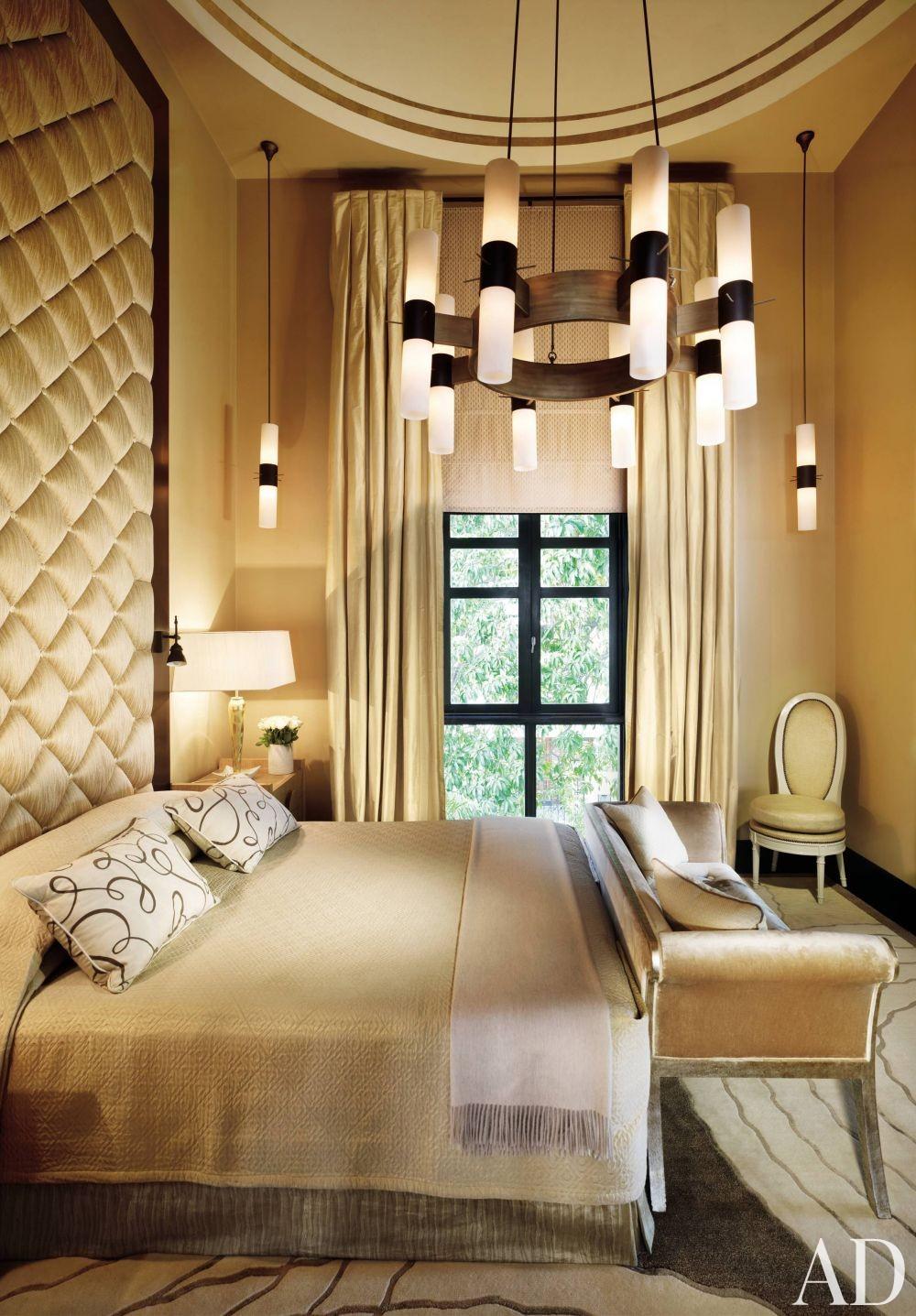 Contemporary Bedroom by Jean-Louis Deniot in New Delhi, India