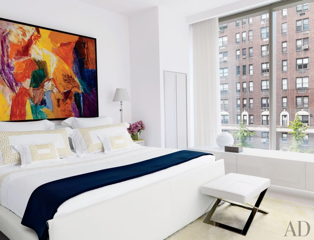 Contemporary Bedroom by Jennifer Post Design Inc. in New York, New York