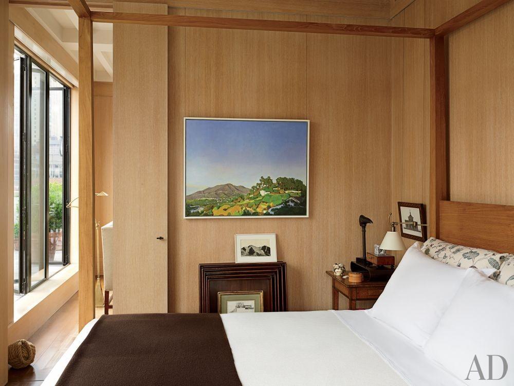 Contemporary Bedroom by Len Morgan in New York, New York