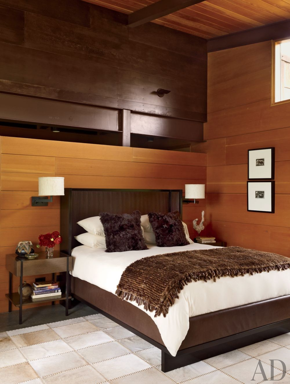 Contemporary Bedroom by Madeline Stuart & Associates and Lake | Flato Architects in Montana