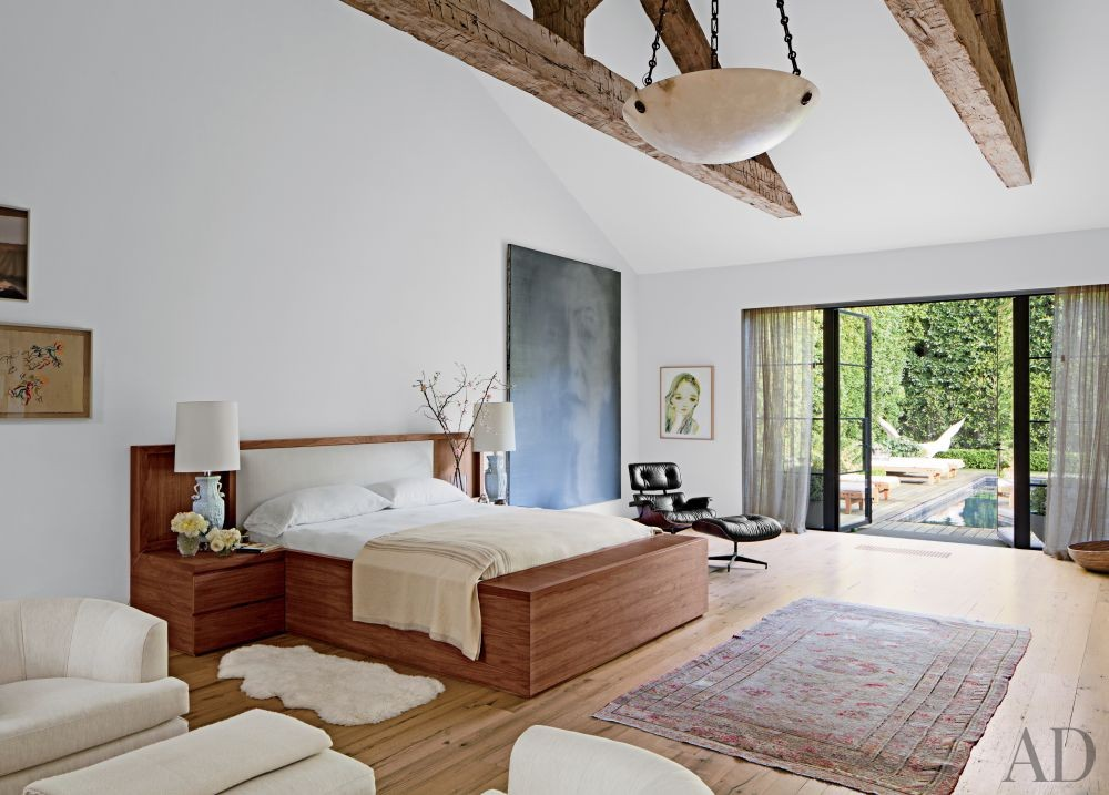Contemporary Bedroom by Standard in Beverly Hills, California