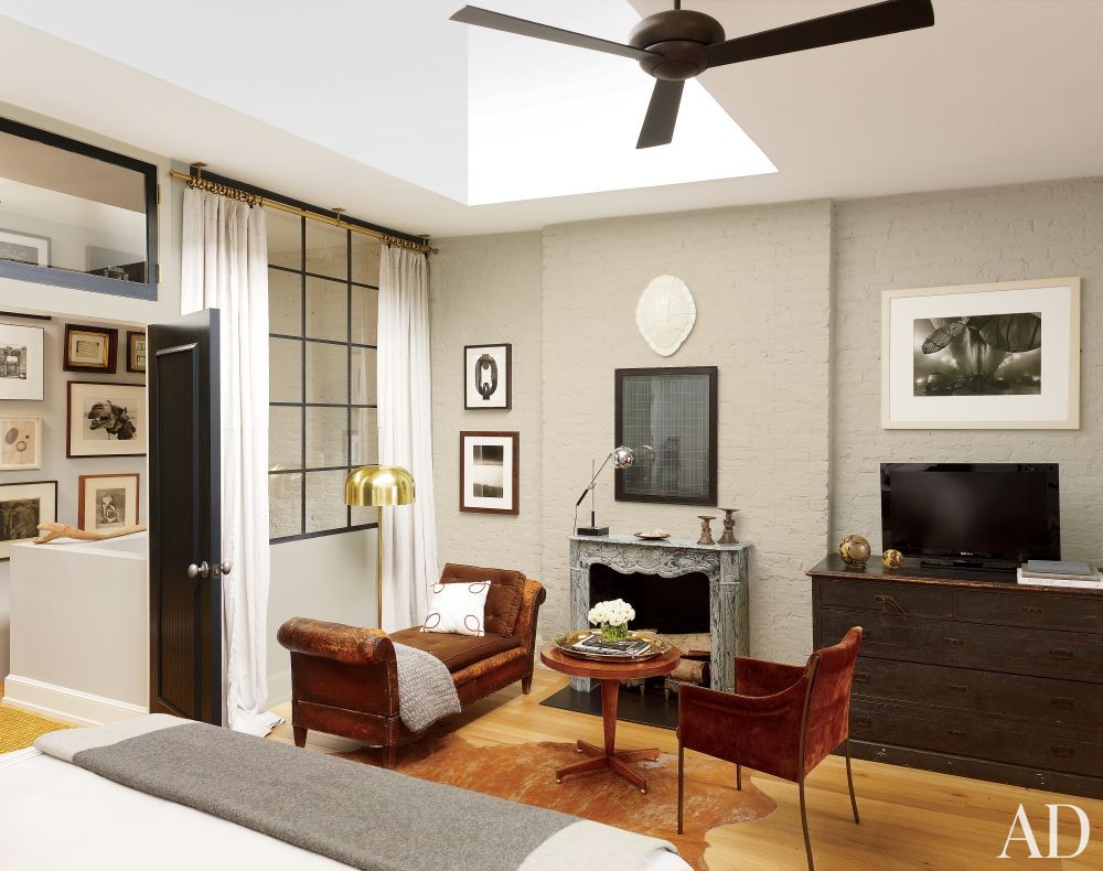 Contemporary Bedroom by Nate Berkus in New York, New York