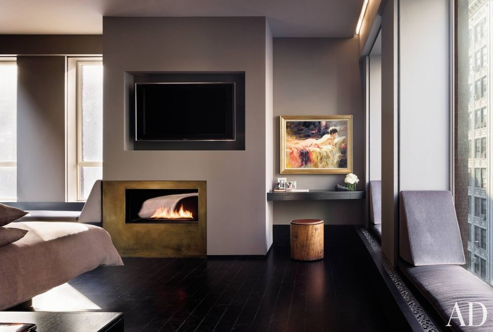 Contemporary Bedroom and Charles Rose in New York City