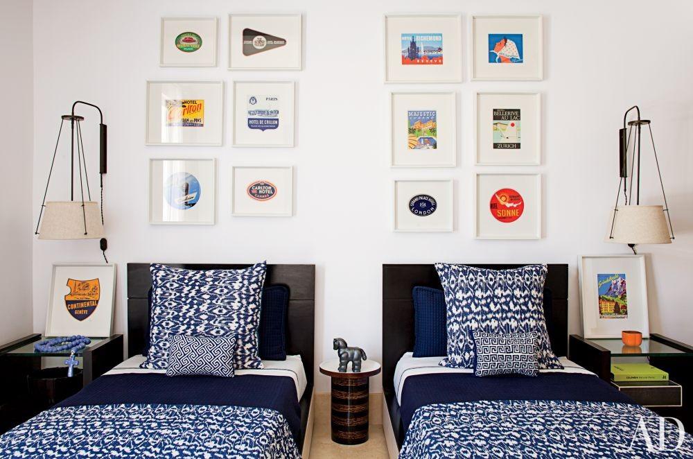 Contemporary Bedroom by Richard Mishaan Design in Cartagena, Columbia