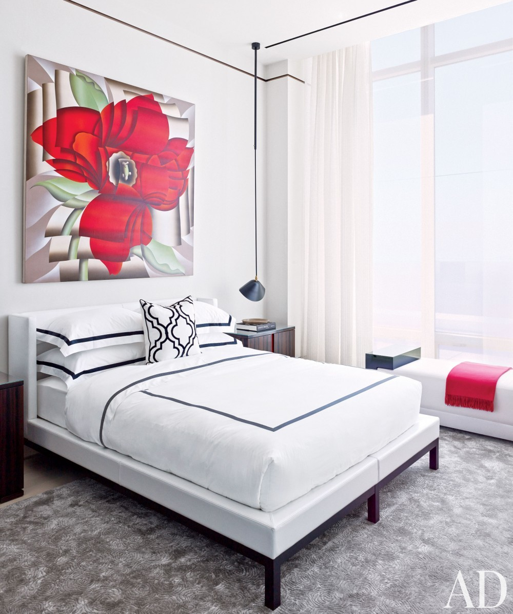 Contemporary Bedroom by Rockwell Group and Rockwell Group in New York, New York