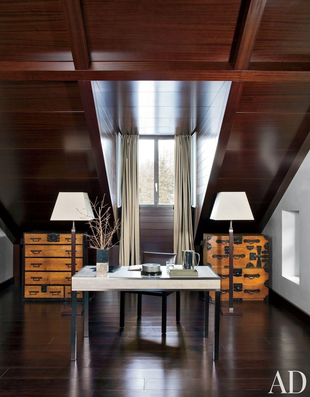 Contemporary Bedroom in Saint Moritz, Switzerland