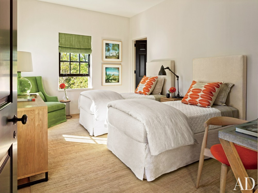 Contemporary Bedroom by Sawyer | Berson and Sawyer | Berson in Southampton, NY