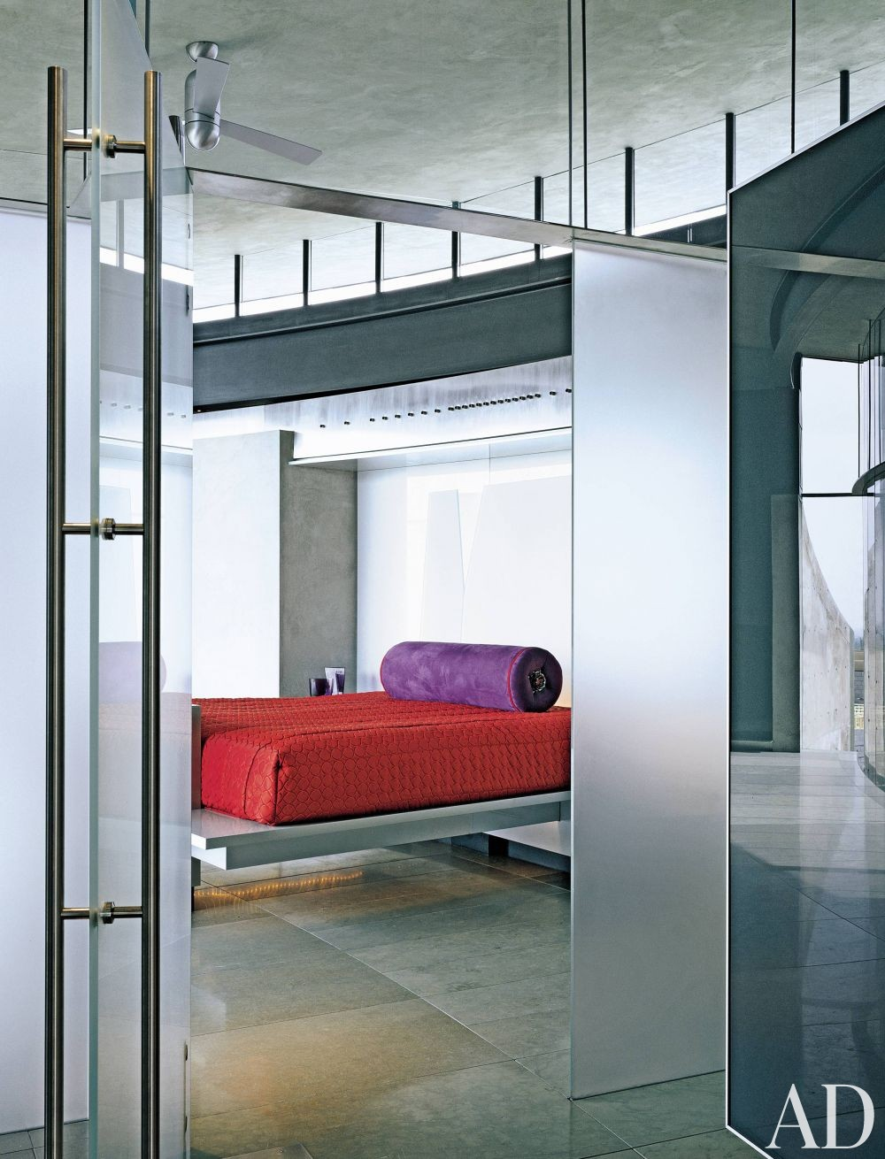 Contemporary Bedroom By Architectural Digest Ad Designfile Home Decorating Photos