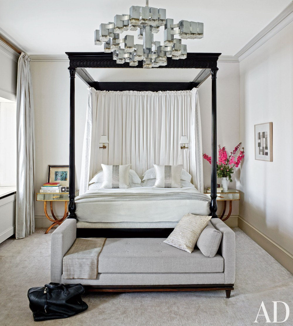 Contemporary Bedroom by Veere Grenney in London, England