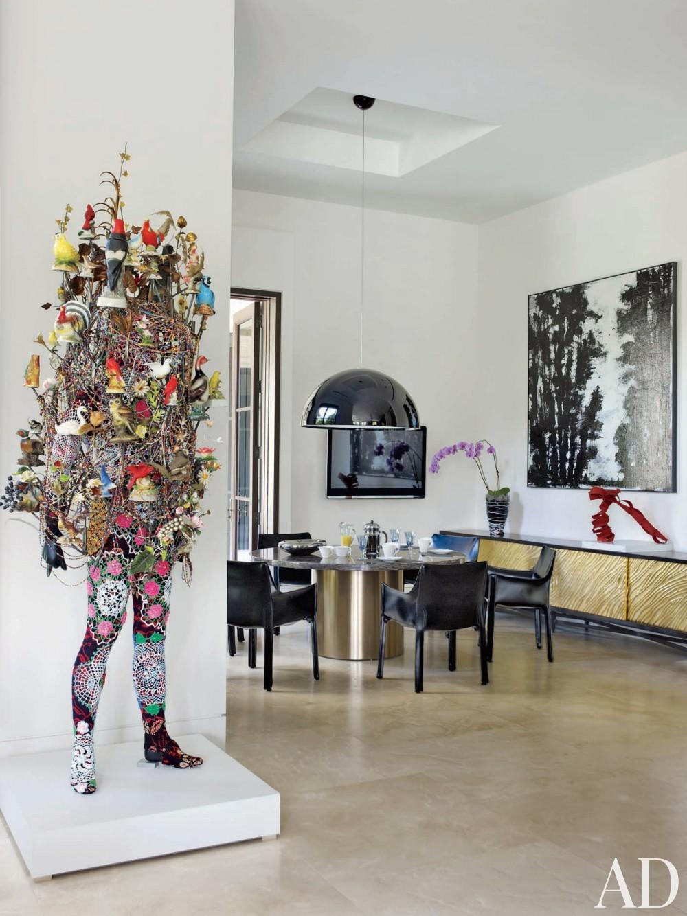 Contemporary Breakfast area by Furze Bard + Associates and Manuel J. Diaz in Jupiter, Florida