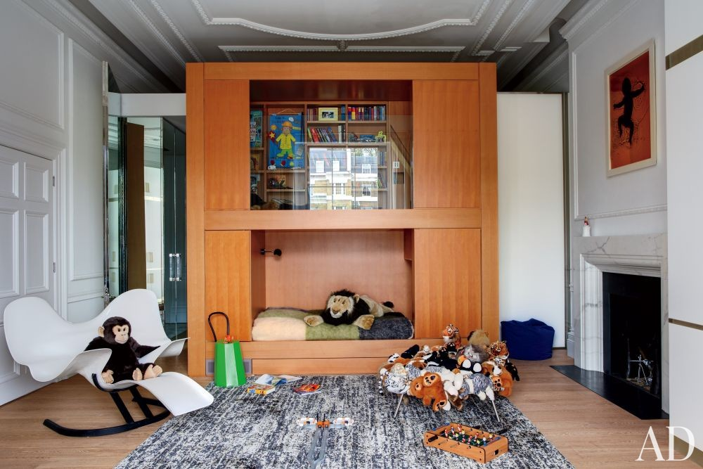 Contemporary Children\'s Room by Francis Sultana Ltd. and Thomas Croft Architects in London, England