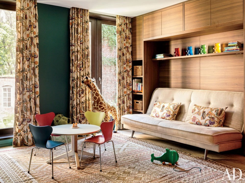Contemporary Children\'s Room by Laura Santos and 1100 Architect in New York, New York