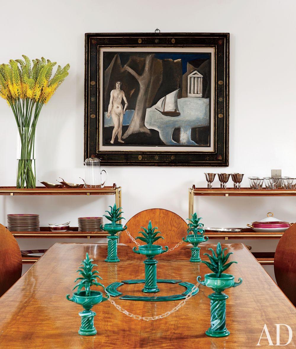 Contemporary Dining Room by Cesare Rovatti and Fabrizio Taliento and Simona Fabbrizi Formilli in Rome, Italy