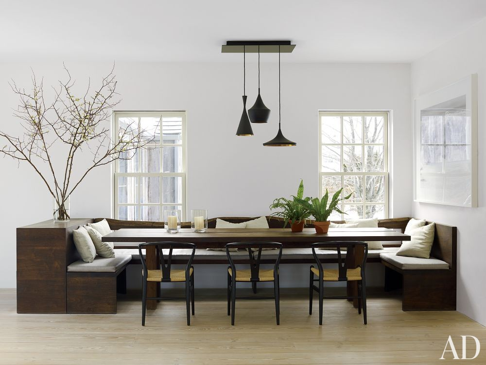 Contemporary Dining Room by D\'Apostrophe Design in Remsenburg, New York