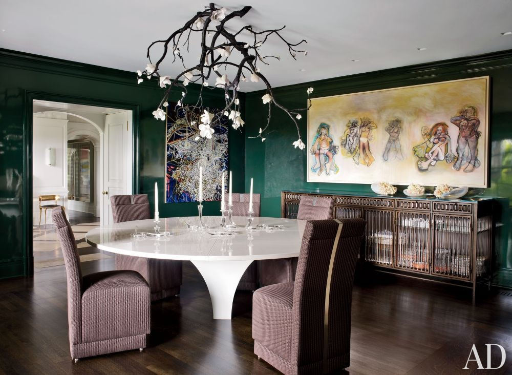 Contemporary Dining Room by Fox-Nahem Associates and Alveary Architecture in Greenwich, Connecticut