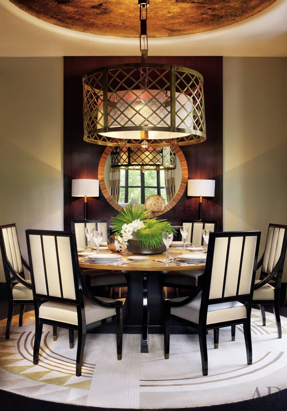 Contemporary Dining Room by Jean-Louis Deniot in New Delhi, India