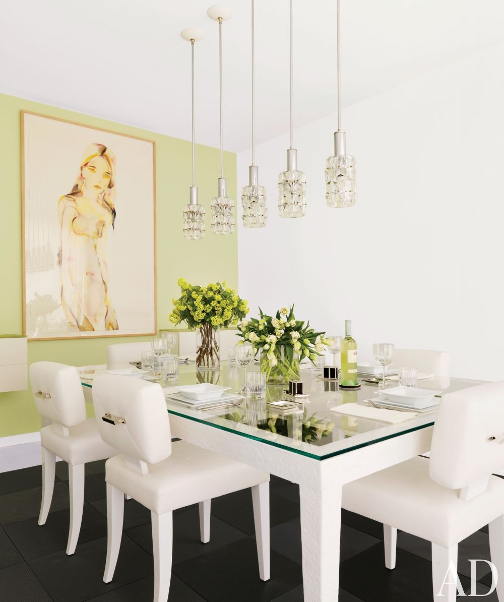 Contemporary Dining Room by Jennifer Post Design Inc. in New York, New York