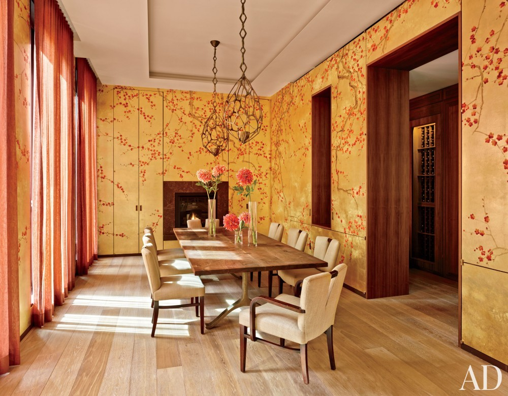Contemporary Dining Room by Laura Santos and 1100 Architect in New York, New York