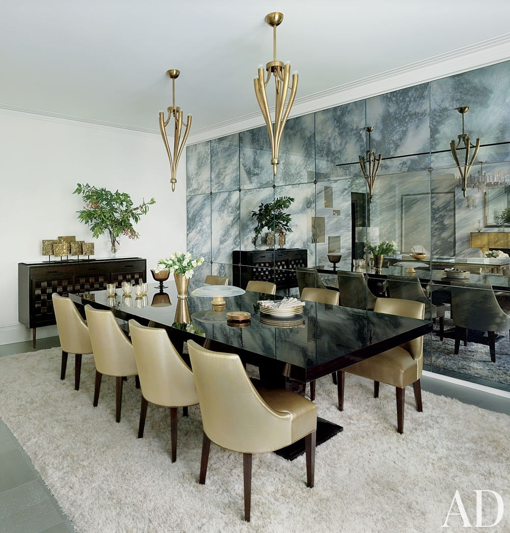 Contemporary Dining Room by MR Architecture + Decor in New York, New York