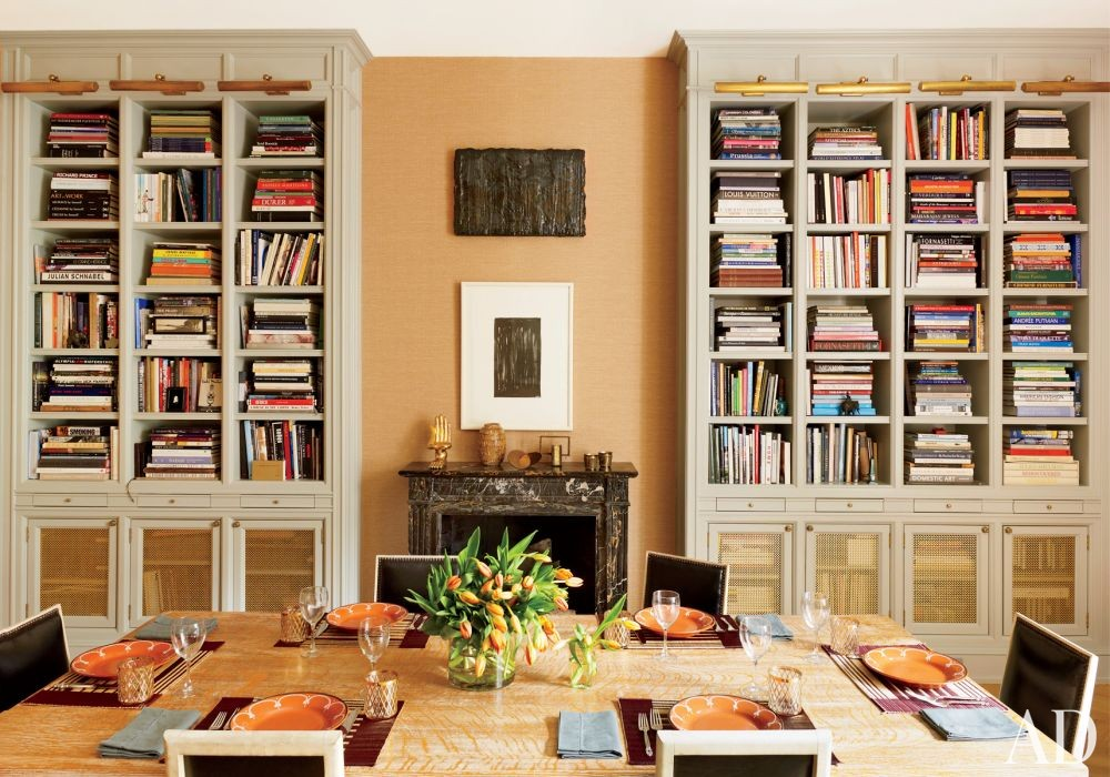 Contemporary Dining Room by Nate Berkus in New York, New York