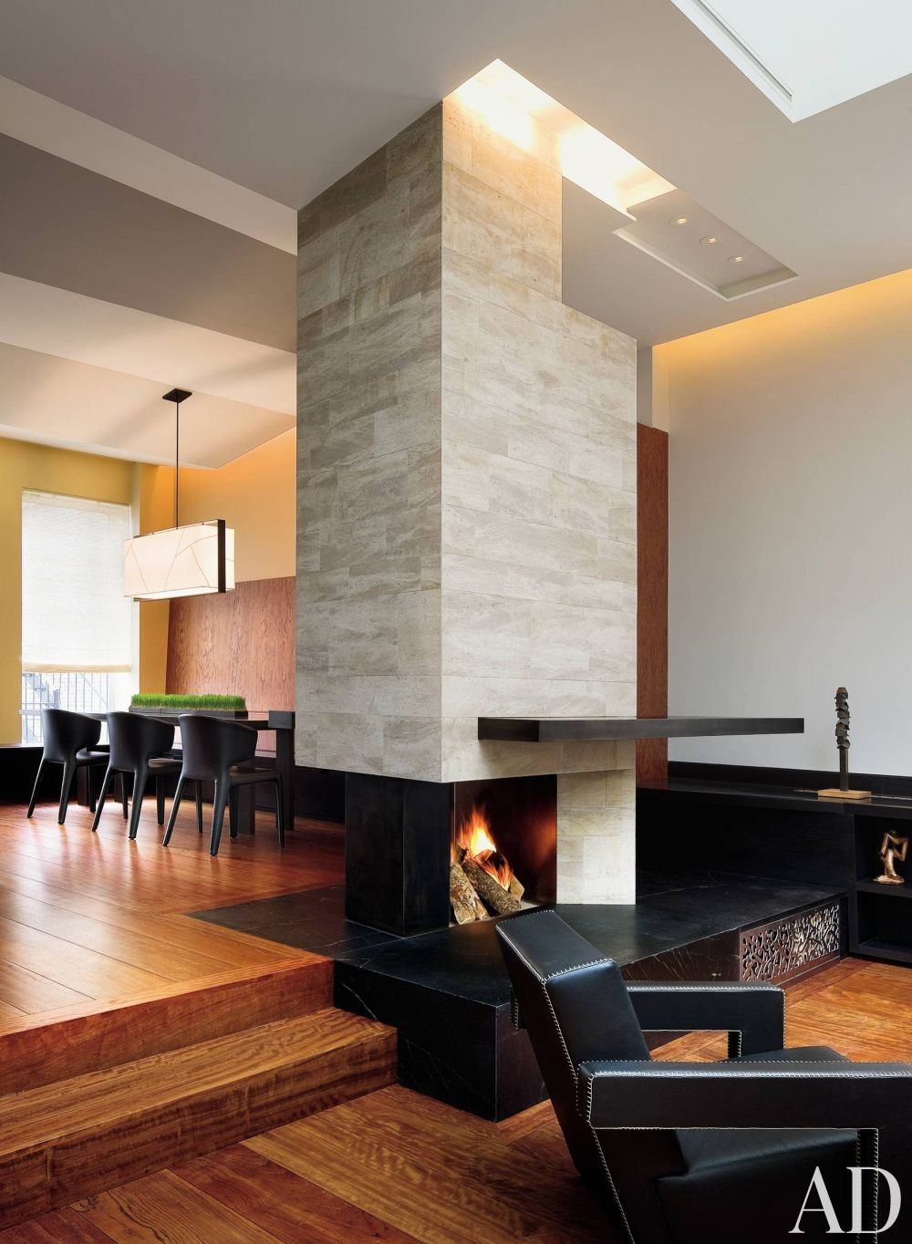 Contemporary Dining Room and Charles Rose in New York City