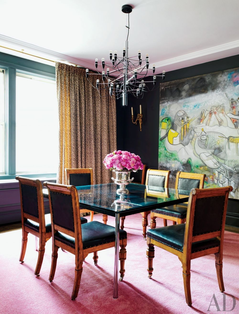 Contemporary Dining Room in New York City