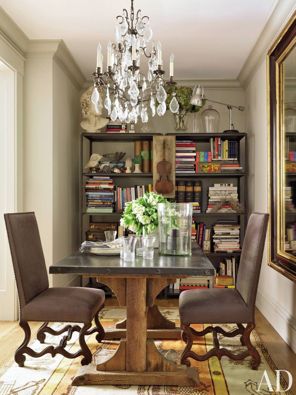 Contemporary Dining Room in New York, New York