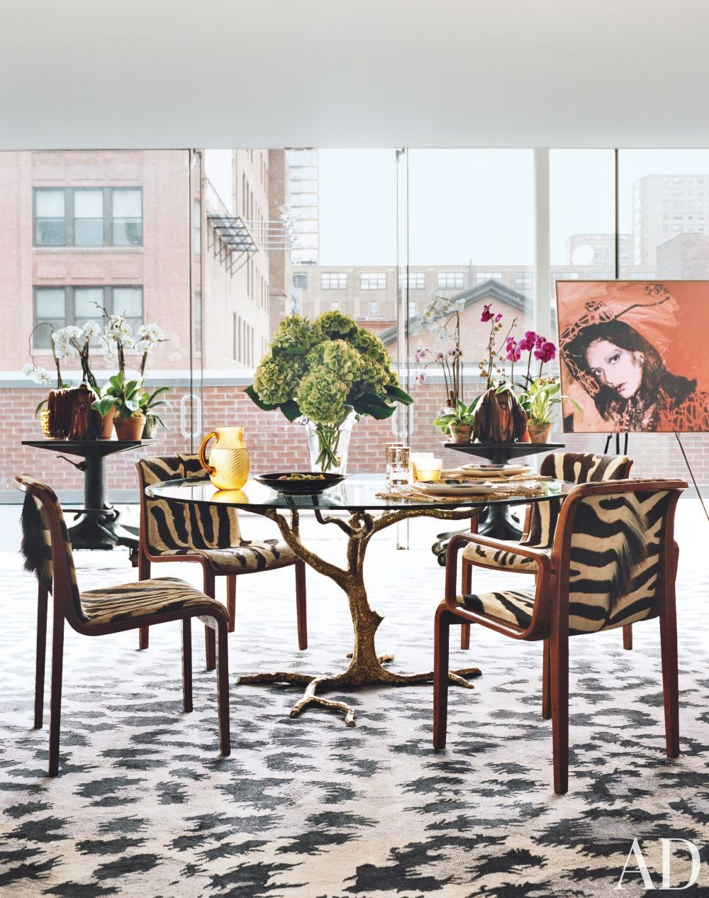 Contemporary Dining Room and WORKac in New York, New York