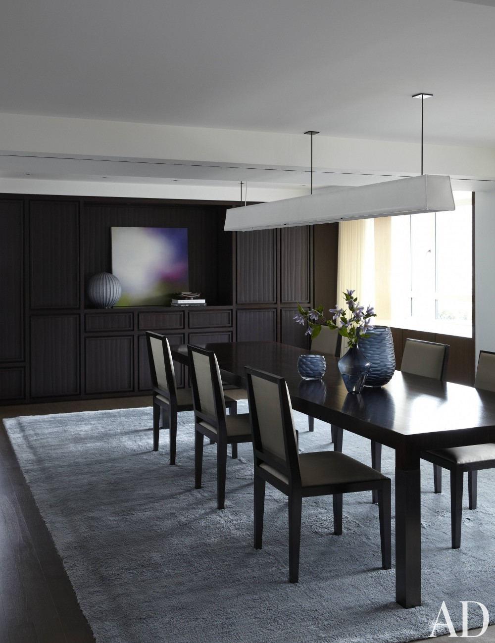 Contemporary Dining Room by S. Russell Groves and S. Russell Groves in New York, New York